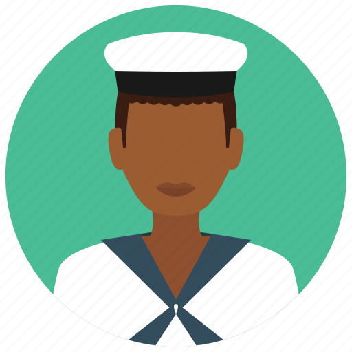 avatar, hat, man, military, sailor, services, ship icon