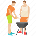 bbq food, friends picnic, outdoor cooking, outdoor picnic, picnic food icon