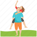 honeymoon, love couple, married couple, picnic, romantic couple icon