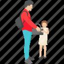 luggage, picnic luggage, tourists.family time, travel bag icon