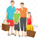 family picnic, family time, happy family, outdoor fun, picnic icon