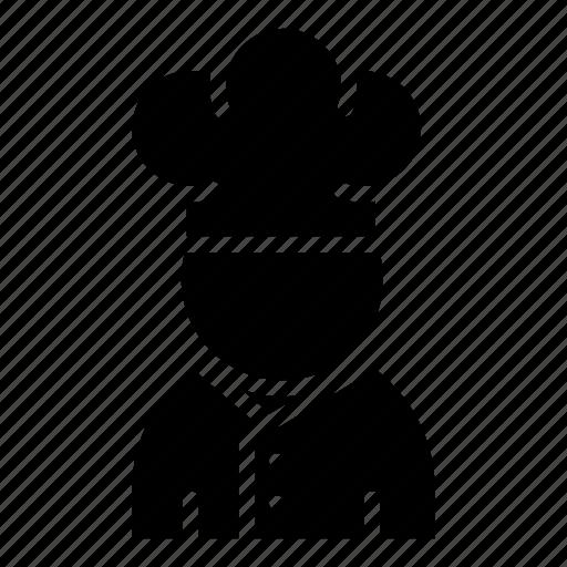 avatar, chef, cook, flunkey, food, man icon