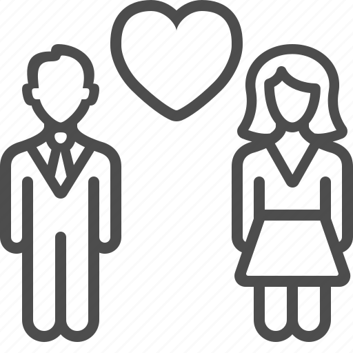 couple, love, man, marriage, relationship, wedding, woman icon