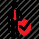 antivirus, approve, female icon, guard, human icon, male, stickman icon