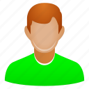 guy, account, avatar, client, customer, human, male, man, person, user, boy, child, contact, employee, manager, member, people, profile, student, users