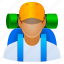 account, active, activity, adventure, avatar, backpack, client, contact, customer, explorer, fitness, free, hiker, hiking, human, manager, member, people, person, profile, road, scout, sport, sports, tour, tourism, tourist, travel, traveller, user, users, vacation, voyage, voyager, walk, walker icon