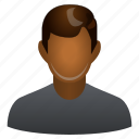 aborigine, bloke, bod, boy, chap, doodle, fellow, guy, jack, lad, loafer, scout, southerner, account, avatar, client, contact, customer, dark, human, indian, man, manager, member, people, person, profile, user, users