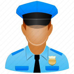 account, army, avatar, cap, client, contact, cop, custom officer, customer, fireman, guard, human, justice, law, legal, manager, member, military, officer, official, people, person, police, police officer, policeman, policy, profile, protection, safety, security, sheriff, shield, soldier, user, users icon