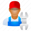 account, avatar, client, contact, customer, employee, engineer, garage, human, industrial, job, maintenance, manager, mechanic, member, motor, people, person, professional, profile, repair, repairman, service, serviceman, staff, technician, user, users, work, worker icon