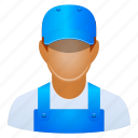 worker, job, serviceman, work, account, avatar, client, contact, customer, employee, engineer, garage, human, industrial, maintenance, manager, mechanic, member, motor, people, person, professional, profile, repair, repairman, staff, technician, user, users