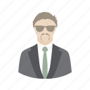account, boss, chief, male, man, people, profile, user icon