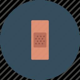 adhesive, aide, band, bandage, care icon