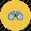 binoculars, search, find, travel