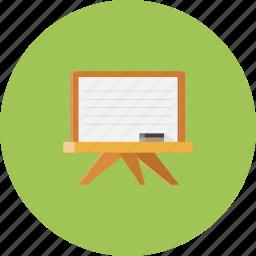 blackboard, drawing, school, text icon