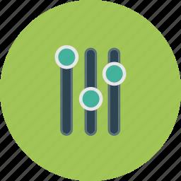 advantages, edit, modify, options, parameters icon