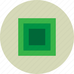 big, border, borders, flag, green, logo, square icon