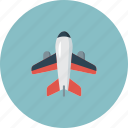 air, aircraft, airplane, airport, plane, travel icon