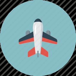 air, aircraft, airplane, airport, plane, travel icon