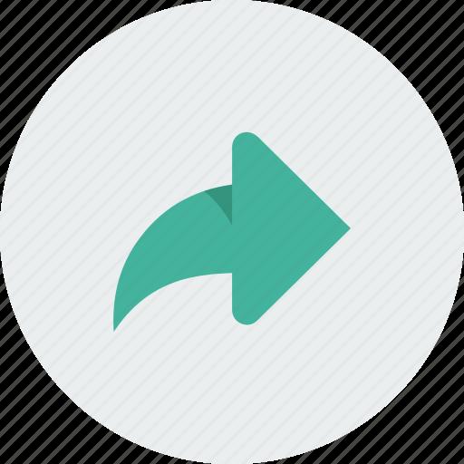 arrow, arrows, green, right icon