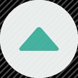 arrow, arrows, green, top, up icon