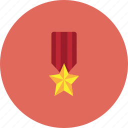 award, awwards, game, red, star, win icon