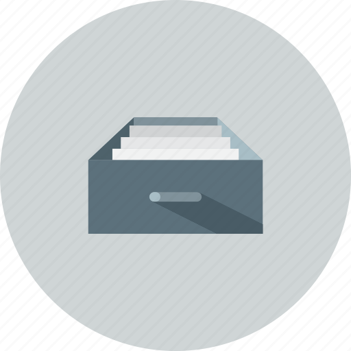 archive, box, documents, email, files icon