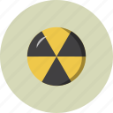 burn, nuclear, radioactive icon