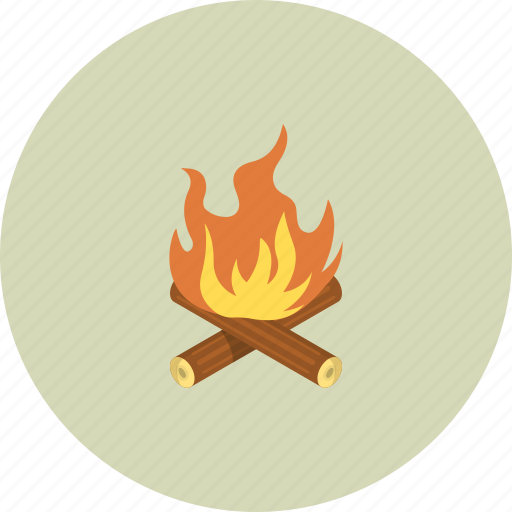 burn, camp, camping, forest, friend, friends, mountain icon