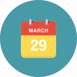 calendar, dat, days, event, events, months, years icon