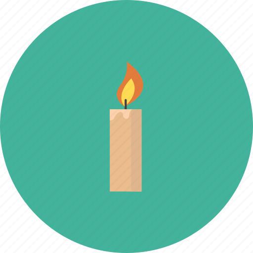 burn, burne, candle, light icon
