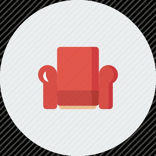 chair, home, house, sofa icon