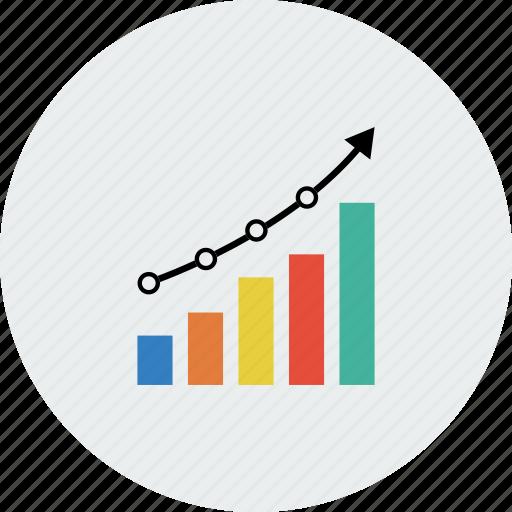 analytics, chart, grahp, statisctics icon