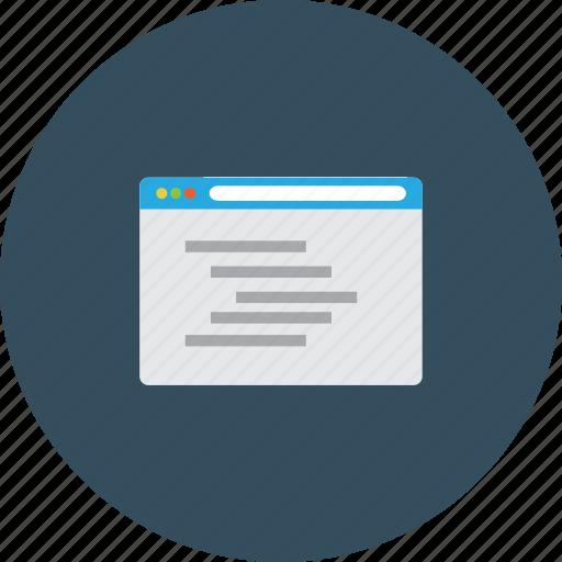 code, css, html, integration, navigator, php, programing icon