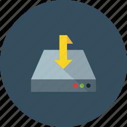 computer, data, download, files, pc icon