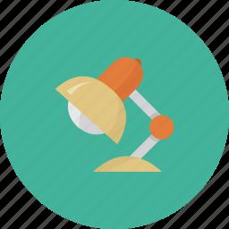 bulb, desk, home, ideas, office icon