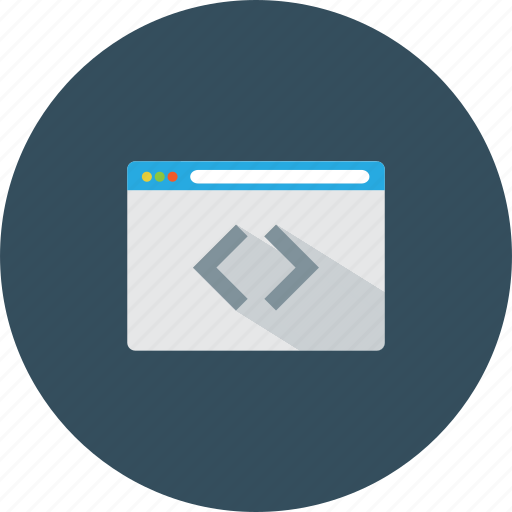 code, development, integration, interface, programing, web icon