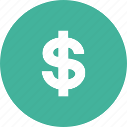 dollar, money, purce, shopping icon