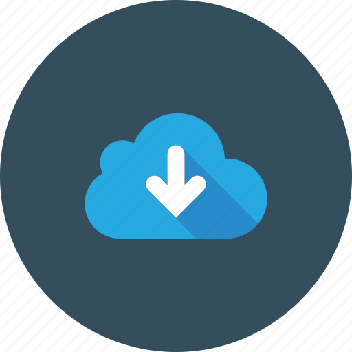 blue, clouds, cloudy, download, sky icon