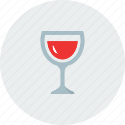 drink, eating, friends, glasses, red icon