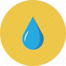 drop, nature, sky, weather icon