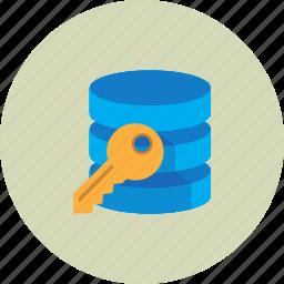 data, encryption, guardar, key, safe, save icon