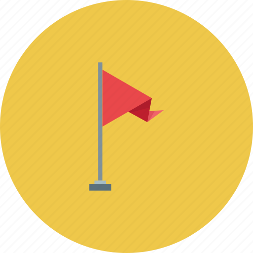 city, flag, pin, red icon