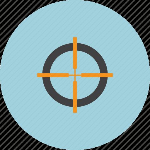 centre, focus, goal, target icon
