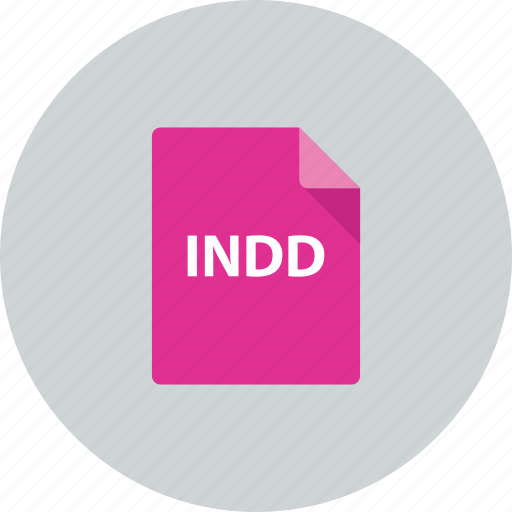 document, extenstion, file, idesigne, indd icon