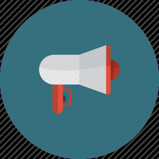 amplifier, audio, communication, loudspeaker, media icon