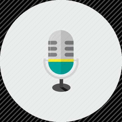 microphone, radio, sounds, volume icon
