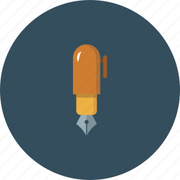 brush, design, draw, drawing, illustration, illustrator, pen icon