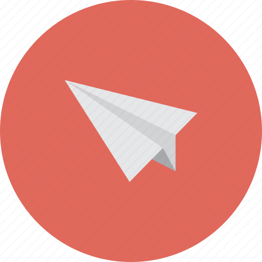 airplane, email, flight, game, mail, paperplane, plane icon