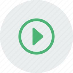 arrow, audio, file, media, music, play, player icon