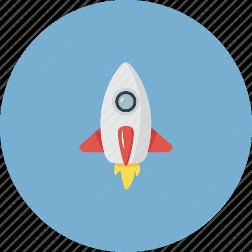 air, airplane, craft, energy, glider, plug, rocket icon
